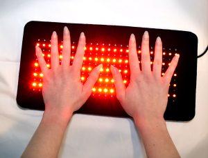 264 Pad under hands
