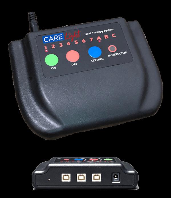 3 Port Controller - Front & Back