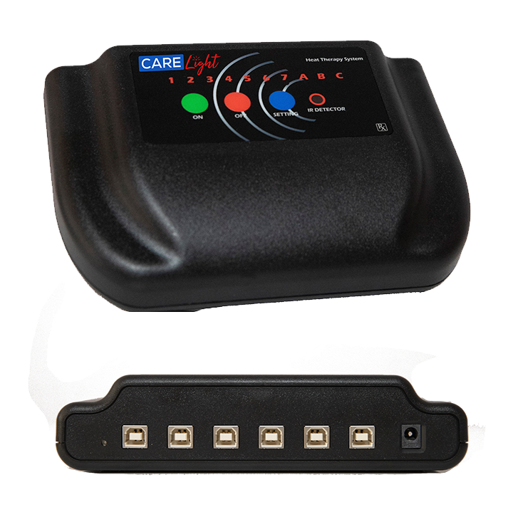 6 Port Controller - Front & Back